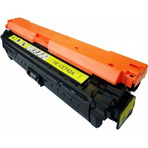 Toner HP CE742A (307A), sárga (yellow), alternatív