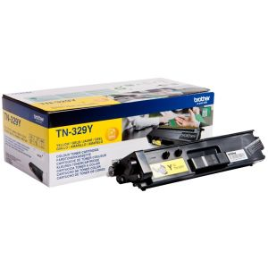Toner Brother TN-329, sárga (yellow), eredeti